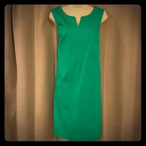 Kelly Green sleeveless dress